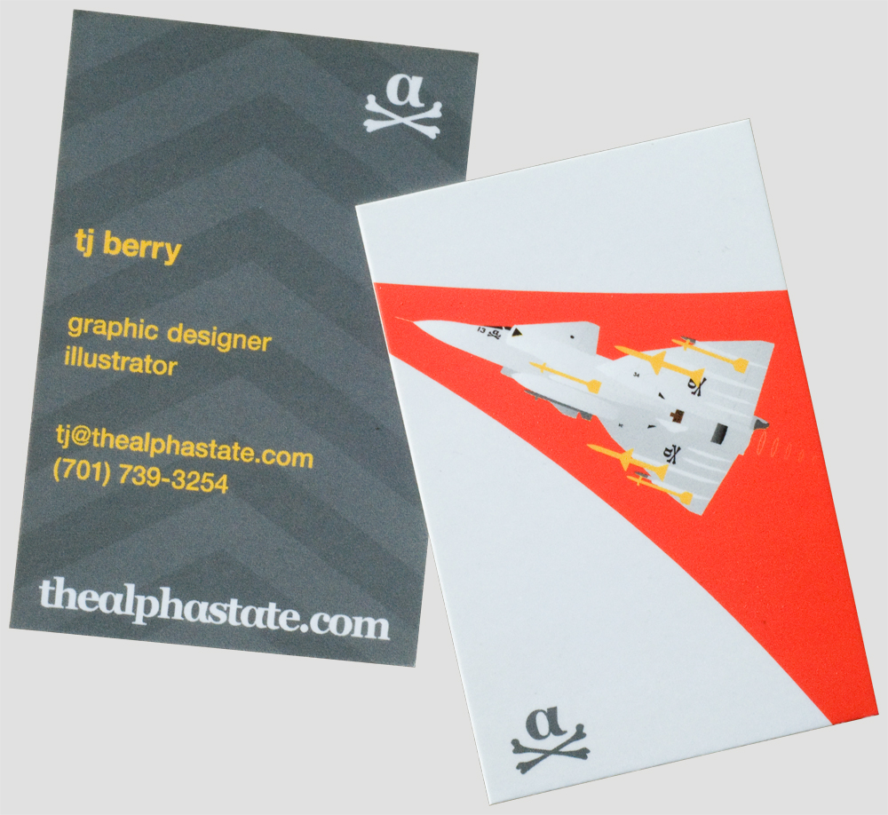 thealphastate viggen business cards